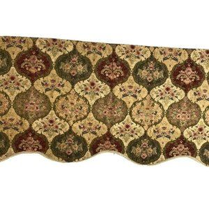 ChrisMadden Pair Valances Curtains Luxury Tapestry